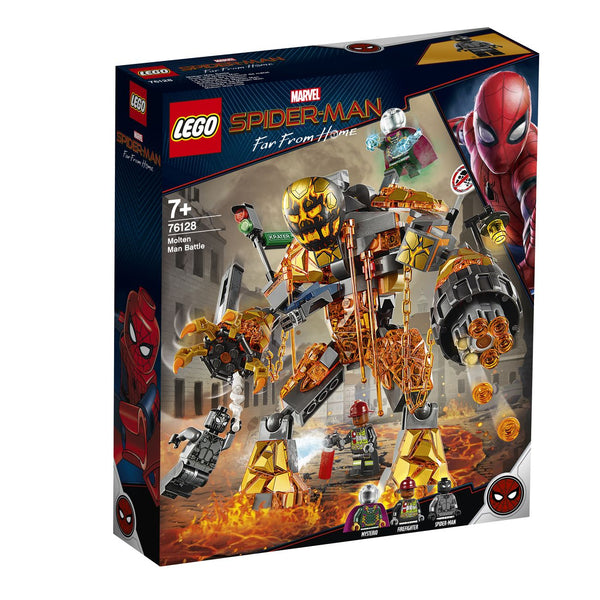 LEGO 76128 MARVEL MOLTEN MAN BATTLE