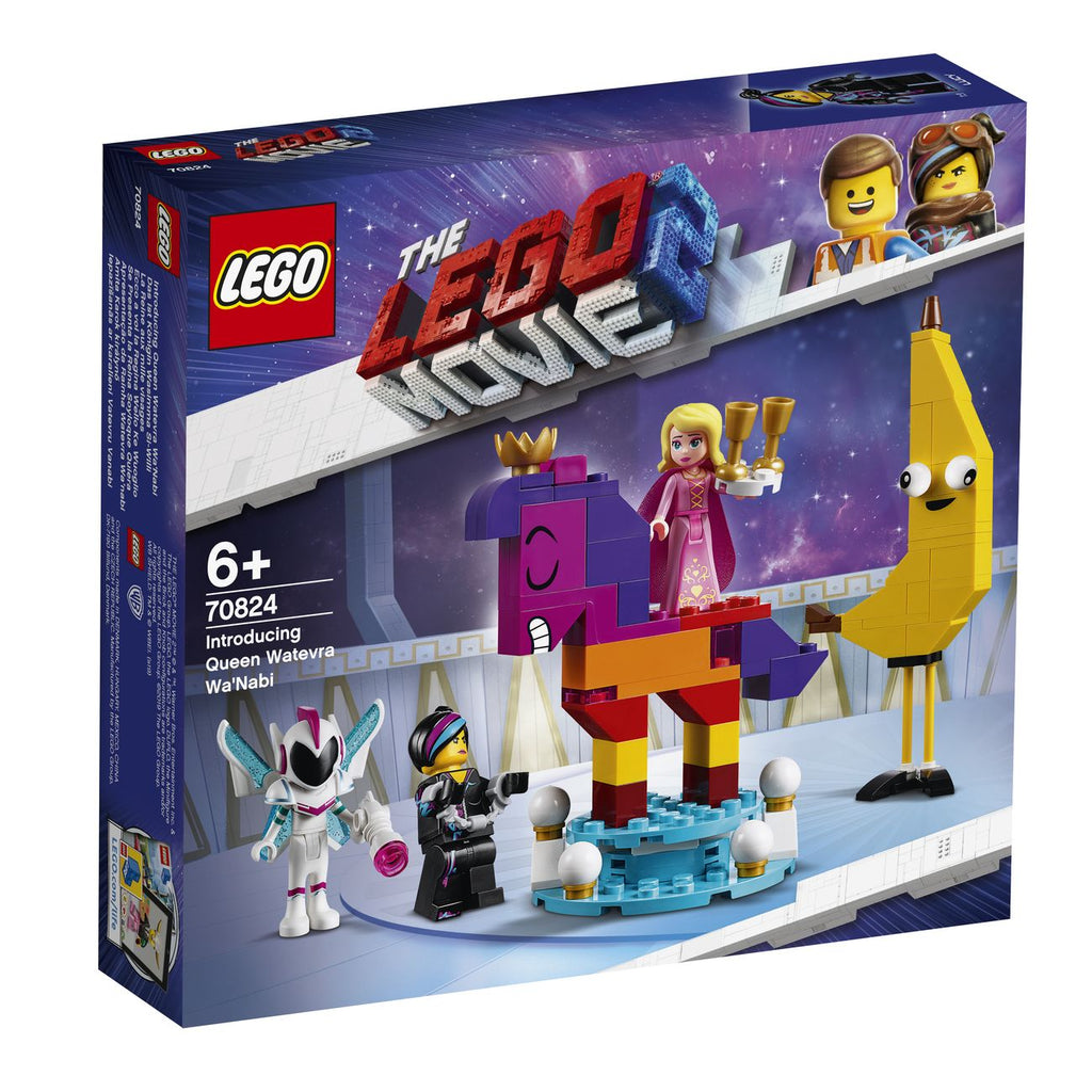 LEGO 70824 LEGO MOVIE 2 INTRODUCING QUEEN WATEVRA WANABI