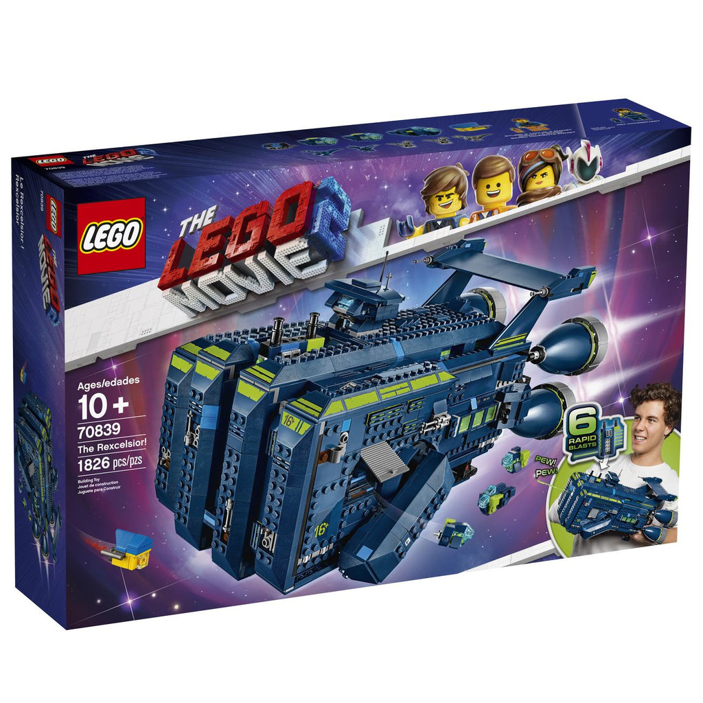 LEGO 70839 LEGO MOVIE 2 THE REXCELSIOR