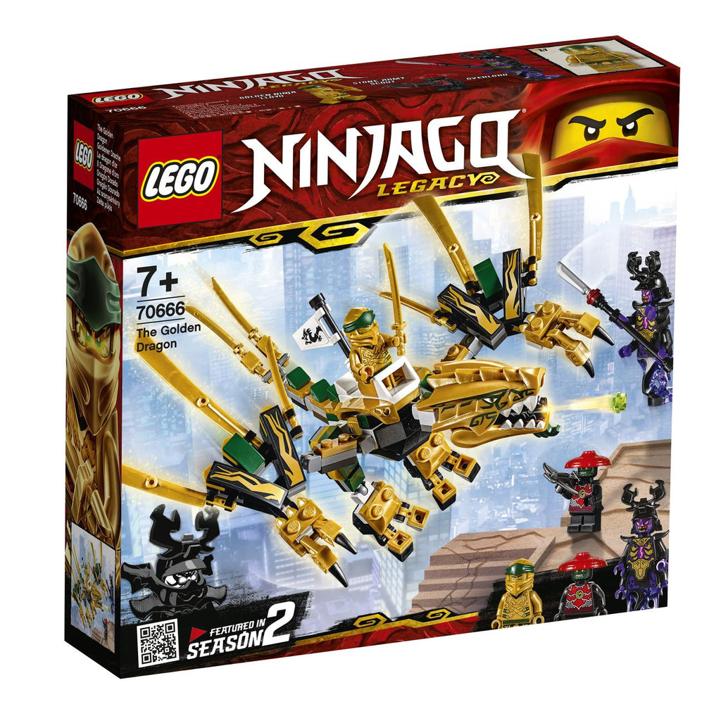 Lego Ninjago The Golden Dragon 70666 - Toyworld