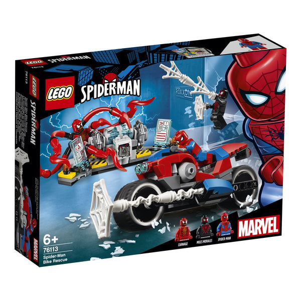 Lego Super Heroes Spider Man Bike Rescue 76113 - Toyworld