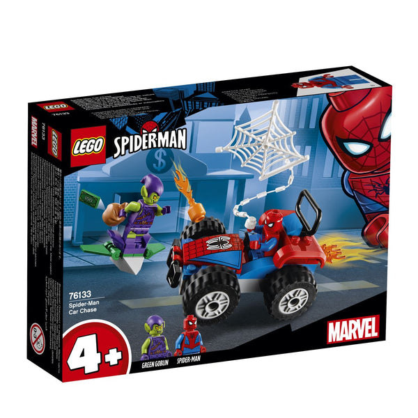 Lego Super Heroes Spider Man Car Chase 76133 - Toyworld