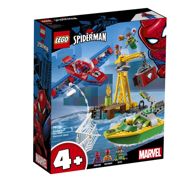 Lego Super Heroes Spider Man Doc Ock Diamond Heist 76134 - Toyworld