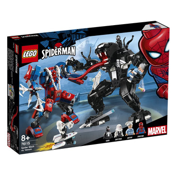 Lego Super Heroes Spider Mech Vs Venom 76115 - Toyworld
