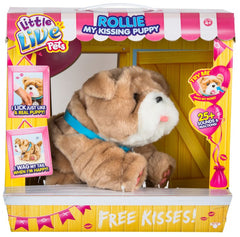 Little Live Pets Kissing Puppy S3 Rollie - Toyworld