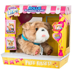Little Live Pets Kissing Puppy S3 Rollie Img 1 - Toyworld
