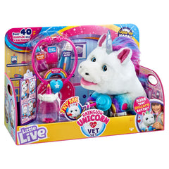 Little Live Pets Rainglow Unicorn Vet Set - Toyworld