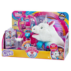 Little Live Pets Rainglow Unicorn Vet Set Img 1 - Toyworld