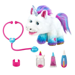 Little Live Pets Rainglow Unicorn Vet Set Img 3 - Toyworld