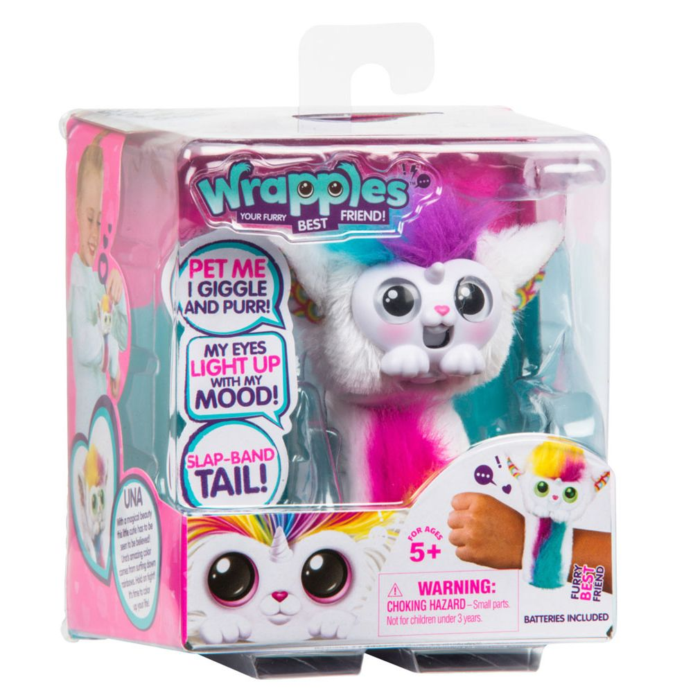 Little Live Pets Wrapples Una - Toyworld