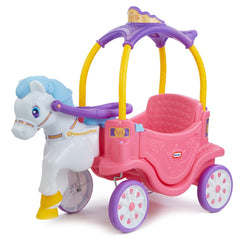 Little Tikes Cozy Princess Horse & Carriage - Toyworld