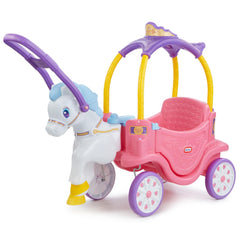 Little Tikes Cozy Princess Horse & Carriage Img 1 - Toyworld