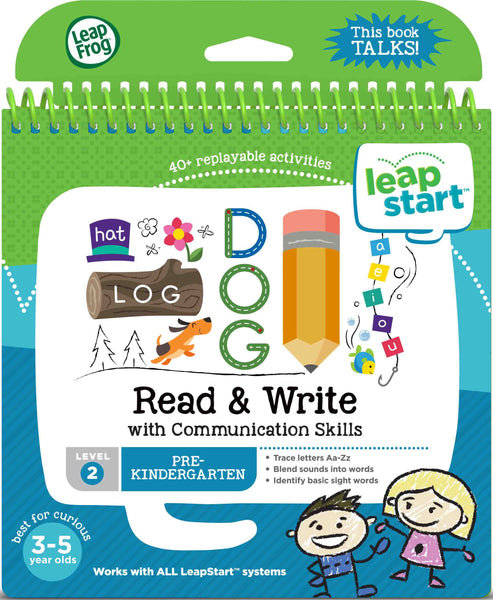 LEAPSTART READ AND WRITE 3D ACTIVITY BOOK