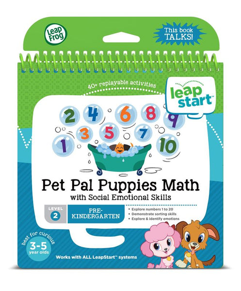 LEAPSTART PET PAL PUPPIES MATHS BOOK