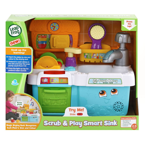 LEAP FROG SCRUB AND PLAY SMART SINK