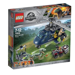 LEGO JURASSIC WORLD BLUES HELICOPTER PURSUIT 75928 - Toyworld
