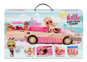Lol Surprise Car Pool Coupe With Tot Doll - Toyworld