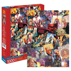 Marvel Captain Marvel Collage 1000 Piece Puzzle - Toyworld