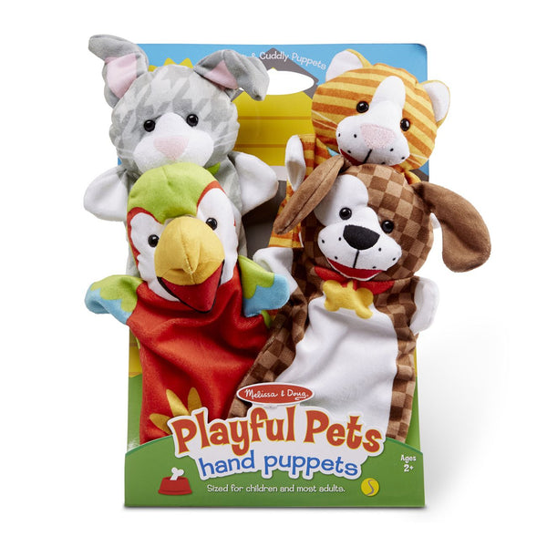 MELISSA AND DOUG HAND PUPPETS PLAYFUL PETS