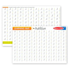 MELISSA AND DOUG LEARNING MAT ADDITION PROBLEMS