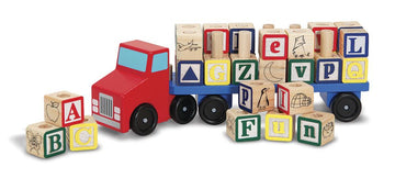 Melissa Doug Alphabet Truck - Toyworld