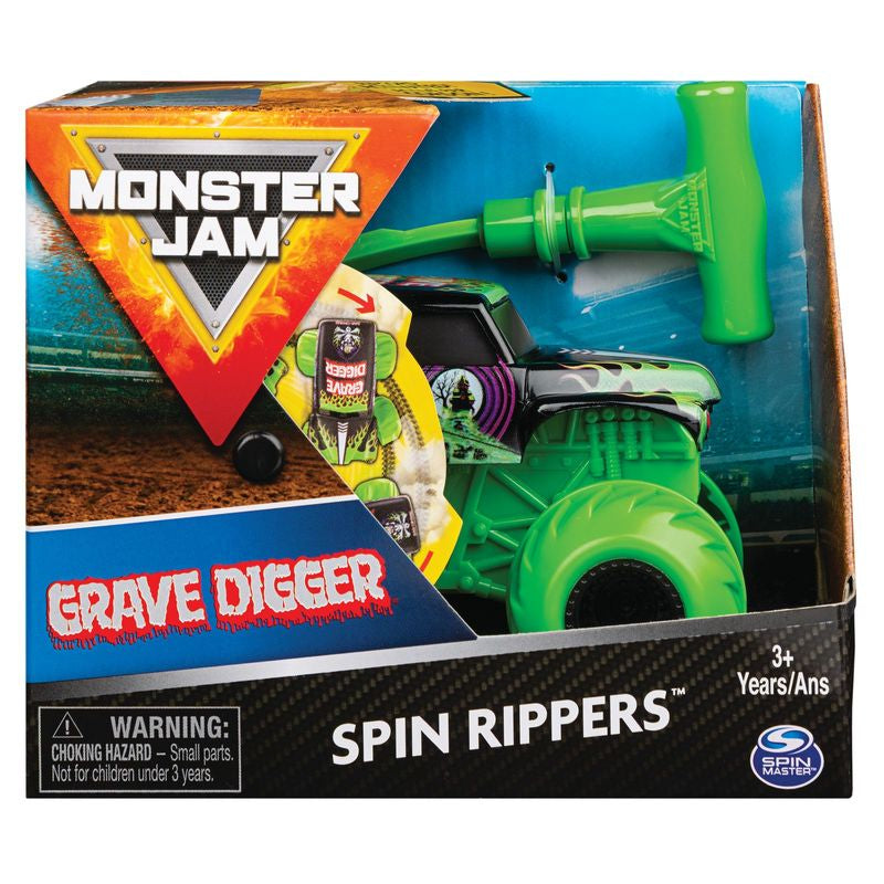 Monster Jam 1:43 Spin Rippers Grave Digger - Toyworld