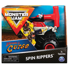Monster Jam 1:43 Spin Rippers Pirates Curse - Toyworld