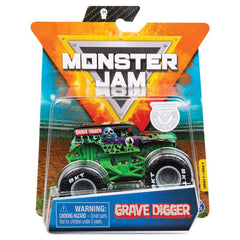 Monster Jam 1:64 Diecast Trucks Grave Digger - Toyworld