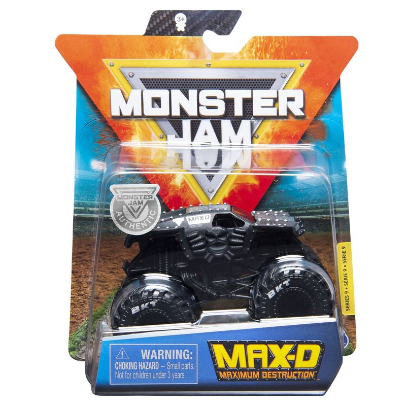 Monster Jam 1:64 Diecast Trucks Max D - Toyworld