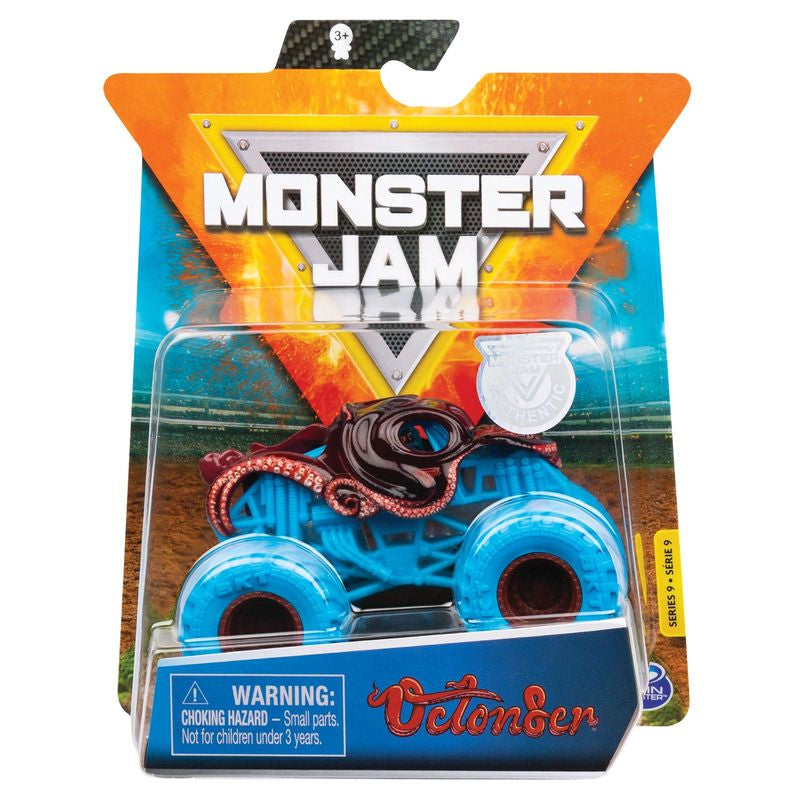 Monster Jam 1:64 Diecast Trucks Octonser - Toyworld
