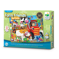 My 1St Floor Puzzle Farm Friends - Toyworld