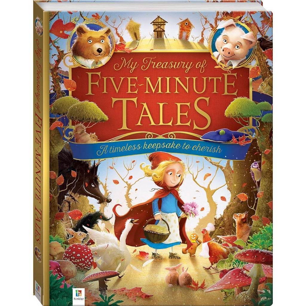 MY TREASURY OF FIVE MINUTE TALES
