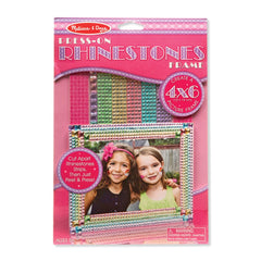 Melissa Doug Press On Jewels Rhinestone Frame - Toyworld