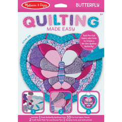 Melissa Doug Quilting Made Easy Butterfly - Toyworld