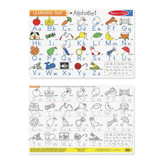 MELISSA & DOUG - LEARNING MAT ALPHABET - Toyworld