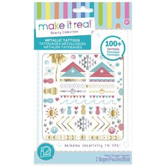 Make It Real Metallic Tattoos - Toyworld