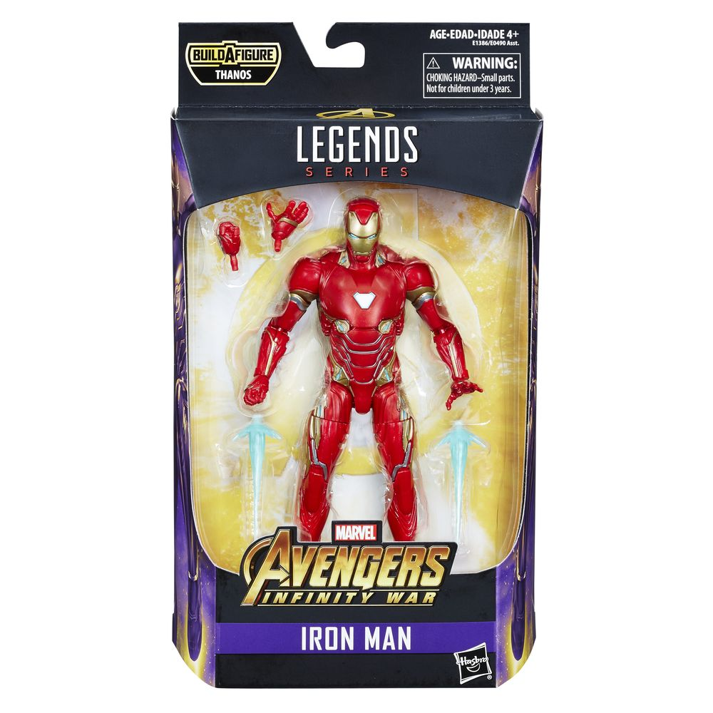 MARVEL LEGENDS AVENGERS INFINITY WAR IRON MAN