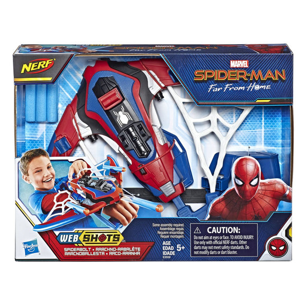 SPIDERMAN WEBSHOTS SPIDERBOLT BLASTER