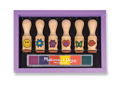 Melissa & Doug Happy Handle Stamps - Toyworld