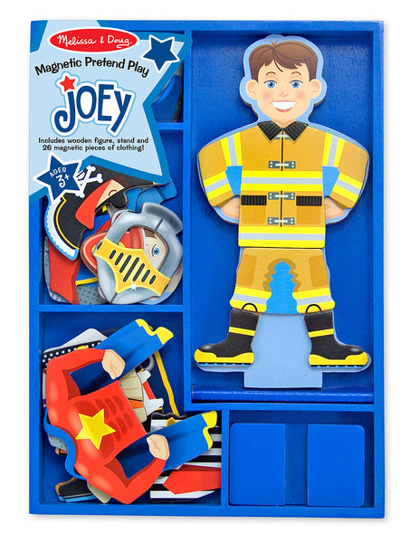 MELISSA & DOUG MAGNETIC DRESS UP JOEY