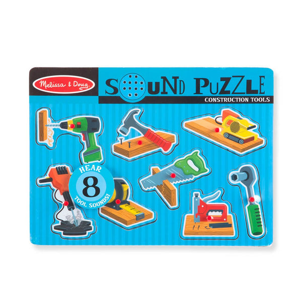 Melissa Doug Sound Puzzle Construction Tools - Toyworld