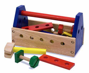 MELISSA & DOUG - CLASSIC TOY TAKE ALONG TOOL KIT - Toyworld