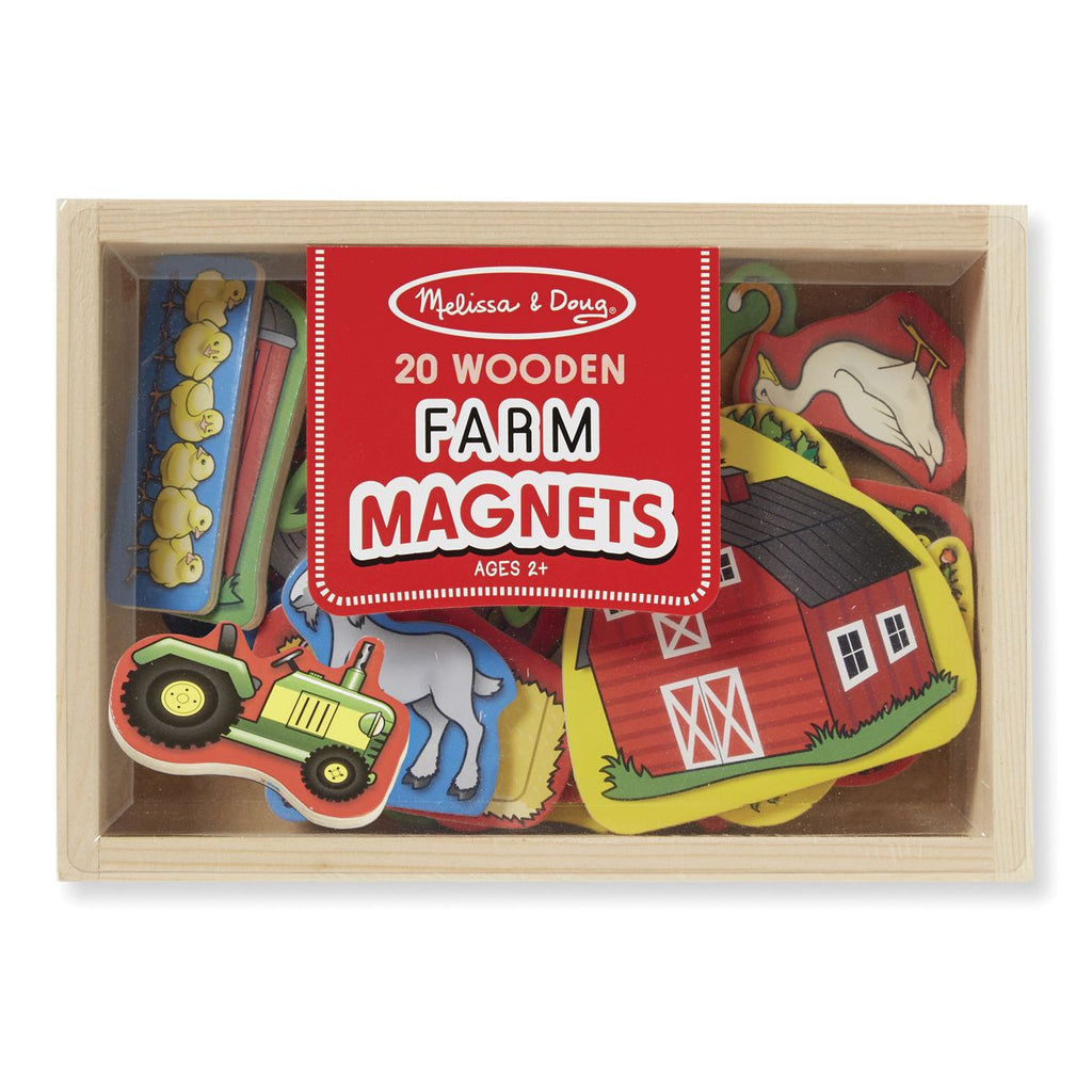 MELISSA & DOUG - FARM MAGNETS - Toyworld