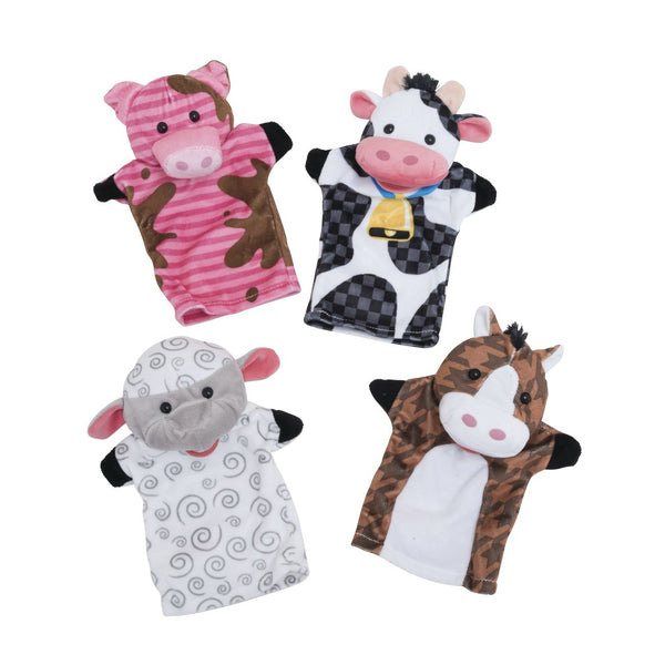 MELISSA AND DOUG HAND PUPPETS FARM FRIENDS