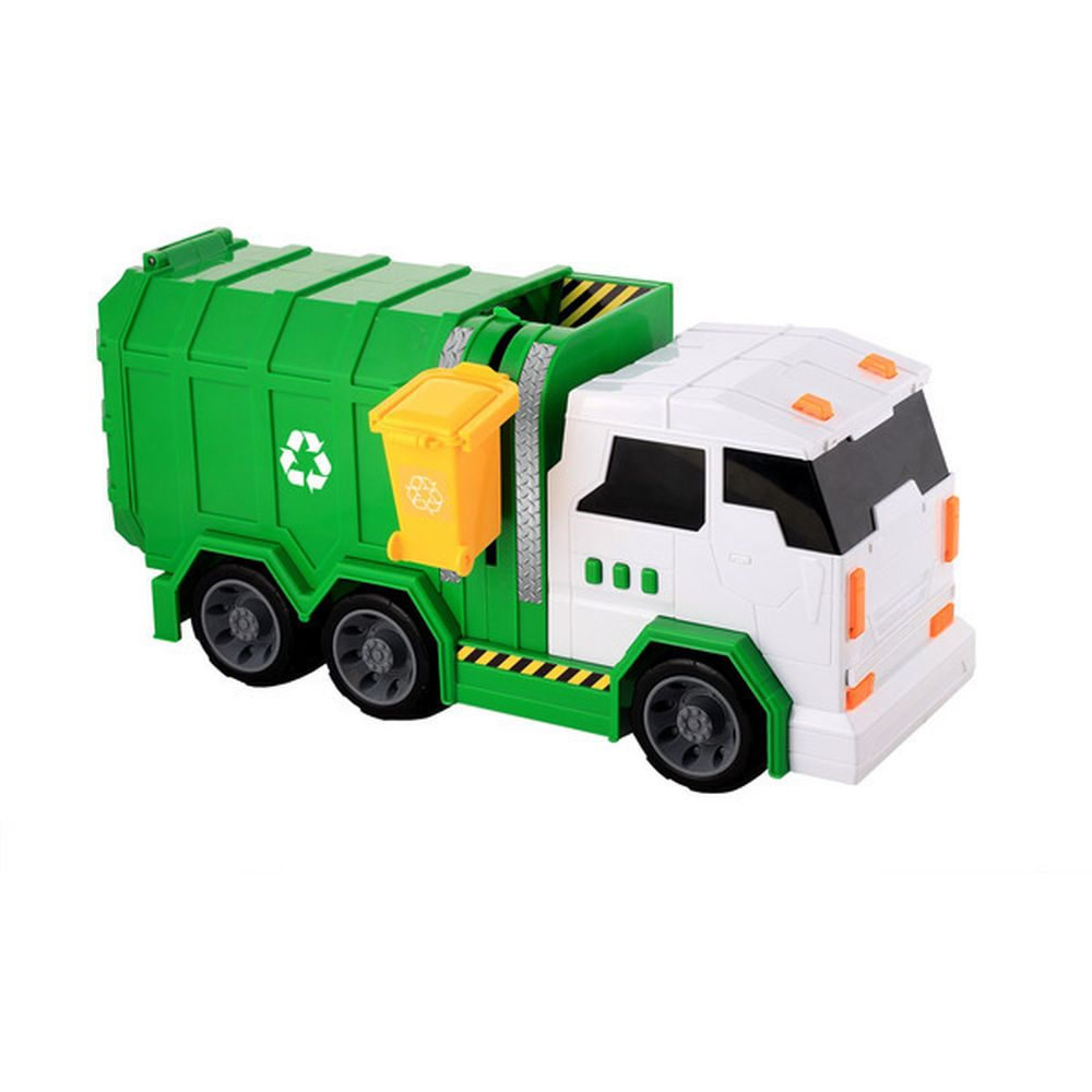 Motor Extreme Lights Sounds Fire Engine & Garbage Truck - Toyworld