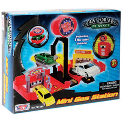 Motor Max Mini Transforming Playset With Car Assorted Styles Img 1 - Toyworld