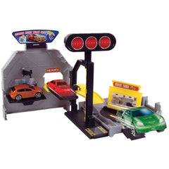 Motor Max Mini Transforming Playset With Car Assorted Styles Img 3 - Toyworld