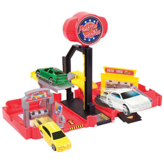 Motor Max Mini Transforming Playset With Car Assorted Styles Img 4 - Toyworld