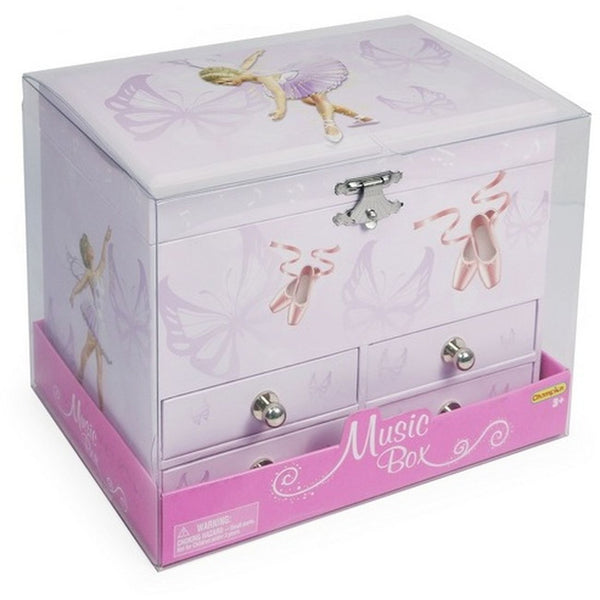 Musical Box With Four Drawers - Toyworld