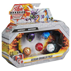 Bakugan Geogan Brawler Pack Mutasect And Stardox - Toyworld
